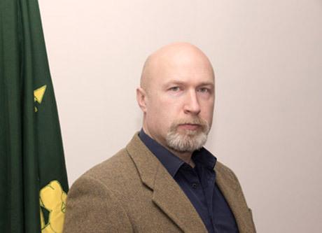 Klas Lund, ledare för Nordiska motståndsrörelsen