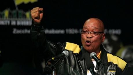 Sydafrikas president Jacob Zuma uppmanade svarta att skjuta vita.