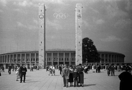 Olympiaden i Berlin 1936.