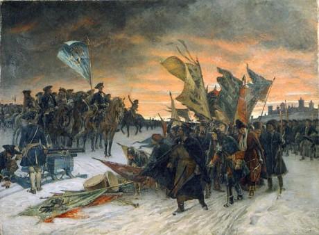 Ryska offensiven obeveklig