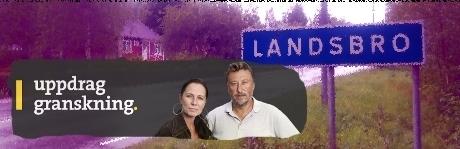 """Uppdrag Granskning gjorde ett program om asylboendet i Landsbro med rubriken """"Rykten och fördomar när asylboendet kom till byn""""."""