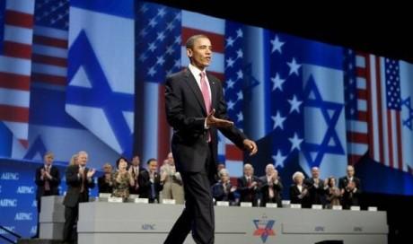Obama är en stor vän av Israel och hans största bidragsgivare i förra valet var den judiska banken Goldman Sachs.