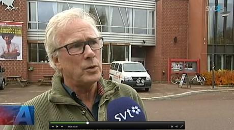 Dalateaterns chef Gugge Sandström är orolig.