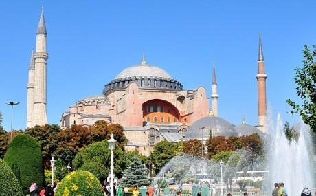 Hagia Sofia-moskén i Istanbul.