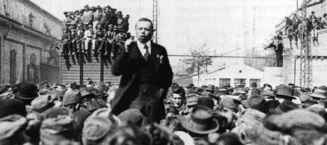 Bela Kun utövade skräckvälde i Ungern.
