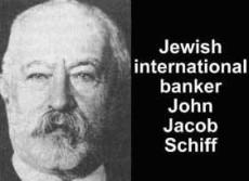 NAACP:s bankir Jacob Schiff.