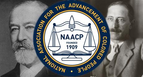 Jacob Schiff och Joel Springarn - två av judarna som grundade den svarta medborgarrättsrörelsen.