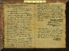 Travis's letter from Alamo