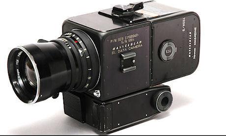 Modell 500EL/70, som tog de berömda månbilderna