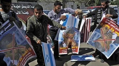 obama protester palestina