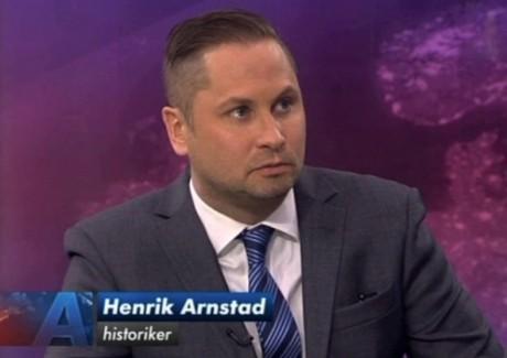 "Henrik Arnstad - ""historiker""."