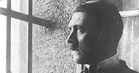 Hitler i fängelset Landsberg am Lech