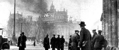 Riksdagshusbranden 1933.