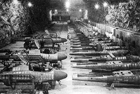Underjordisk fabrik i Magdeburg.