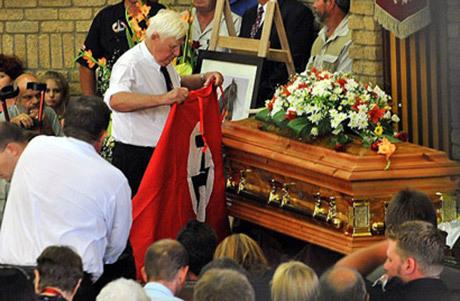 Begravning av Eugène Terre'Blanche