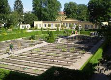 Linnéträdgården i Uppsala.
