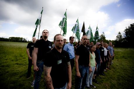 Gruppfoto från aktivistdag i Finland den 15 juni 2013.