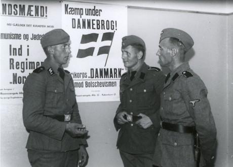 Danska Frikorps-frivilliga.