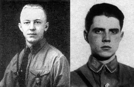 Edgar Steinbach och Heinrich Gutsche.