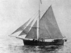 Med den lilla båten Gjøa seglade Amundsen genom Nordvästpassagen.