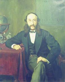 Paul Reuter år 1869. Vid denna tid kontrollerade Reuter och två andra judiska mediamoguler informationsflödet i Europa och större delen av världen.
