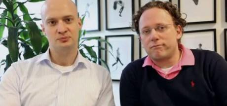 Skokedjan Brandos två grundare, Fredrik Juto och Karl-Johan Pantzar.
