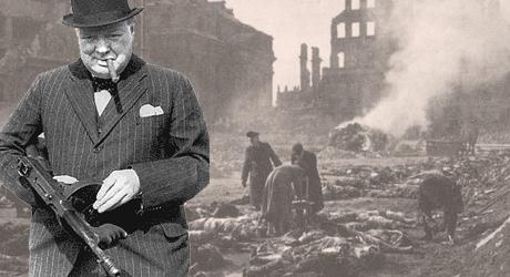 Winston Churchill, en odömd krigsförbrytare.