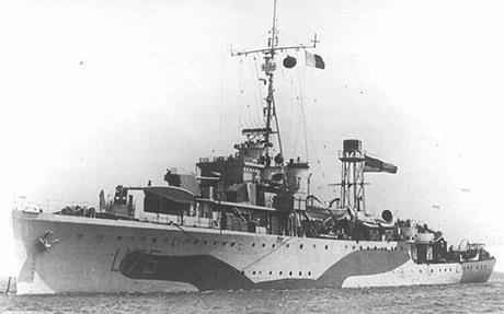 HMS Egret.