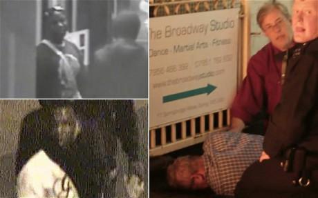 Richard Mannington Bowes efter den brutala misshandeln.