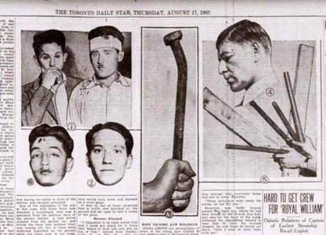 Artikel i Toronto Daily Star dagen efter kravallerna.