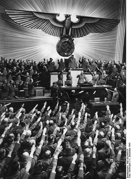 Tyska riksdagen.