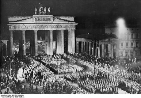 Brandenburger Tor 1933