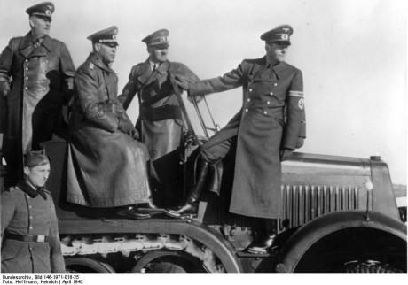 Keitel, Hitler, Speer.