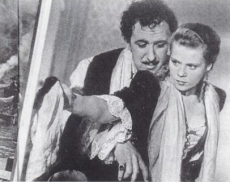 Joseph Süss Oppenheimer och Dorothea.
