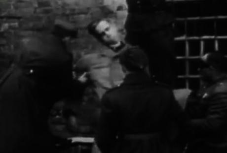 Amon Göth avrättas med hängning den 13 september 1946