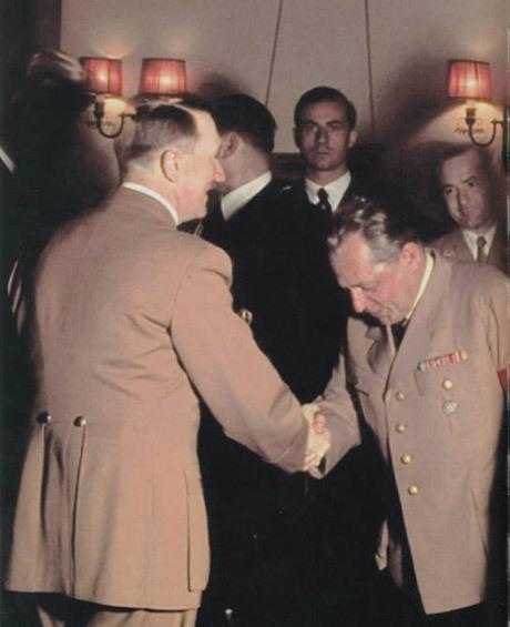 Hitler och Hoffmann.