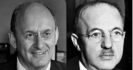 Henry Morgenthau, Jr och Harry Dexter White.