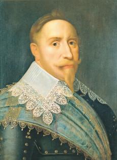 Gustav II Adolf.