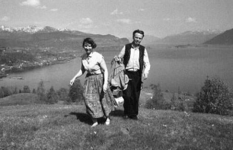 Geirr och hans fru Karen Margrethe.