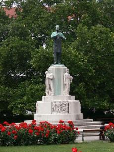 Karl Luegers staty i Wien.