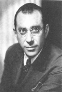 """Herbert Biberman, judisk filmregissör och en """"Hollywood Ten""""."""