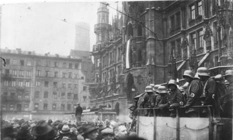 Ölhallskuppen där Göring skottskadades.
