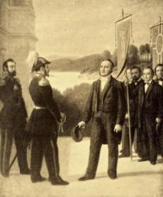 Ploug möter Oscar I 1851.