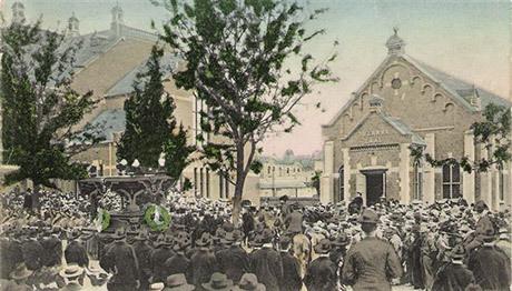 President Paul Krugers begravning 1904.