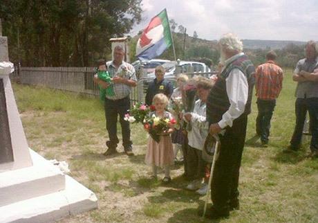 Krugerdagen firas idag endast inofficiellt som här i Balmoral, Sydafrika 2012.