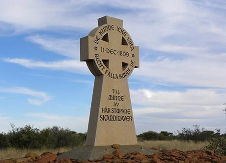 Monumentet vid Magersfontein.