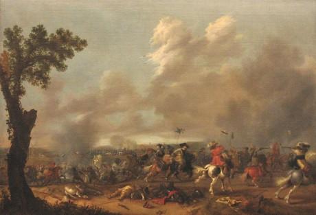 800px-Jan_Asselijn_König_Gustav_Adolf_II_in_der_Schlacht_von_Lützen_1632