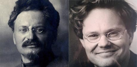 Lev Davidovich Bronstein/Leon Trotsky och Jens Runnberg.