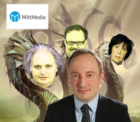 Thomas Peterssohn var VD och chefredaktör för Tidningarnas Telegrambyrå mellan åren 2006 - 2011. Sedan 2011 styr han en hydra som kontrollerar i princip all lokalmedia i Dalarna, Ångermanland, Jämtland, Härjedalen, Medelpad, Hälsingland och Gävle. Bilden är ett kollage.
