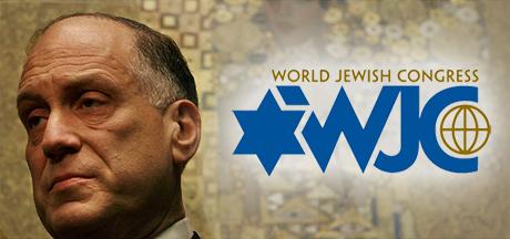 Ronald Lauder leder World Jewish Congress, som i praktiken styr över den grekiska inrikespolitiken.